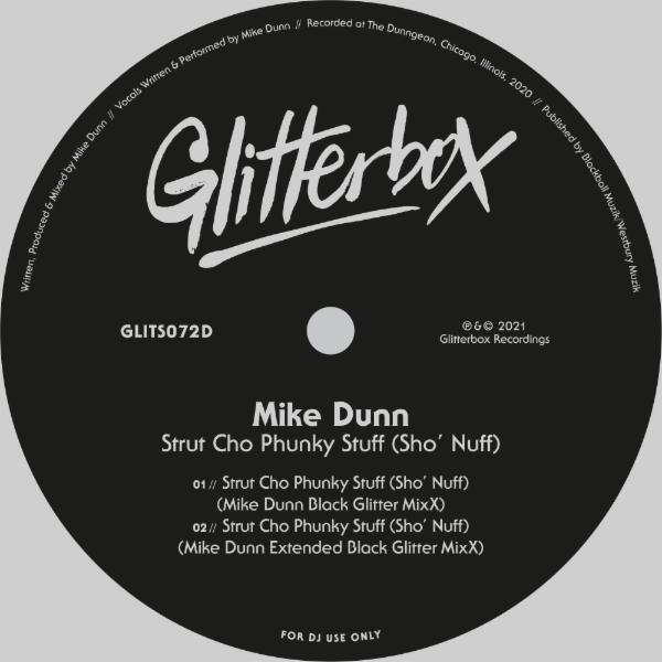 MIKE DUNN - Strut Cho Phunky Stuff (Sho' Nuff) [Mike Dunn Black Glitter MixX]
