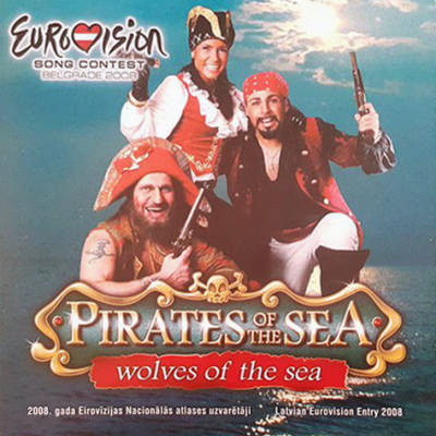 Pirates Of The Sea - Wolves Of The Sea (Lettonie 2008)