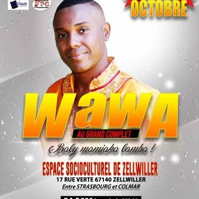 wawa - tiankavana & anniversaire (live alsace 28 oct 2017)