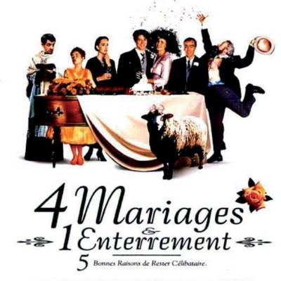 Quatre mariages et un enterrement - ne vous mariez pas
