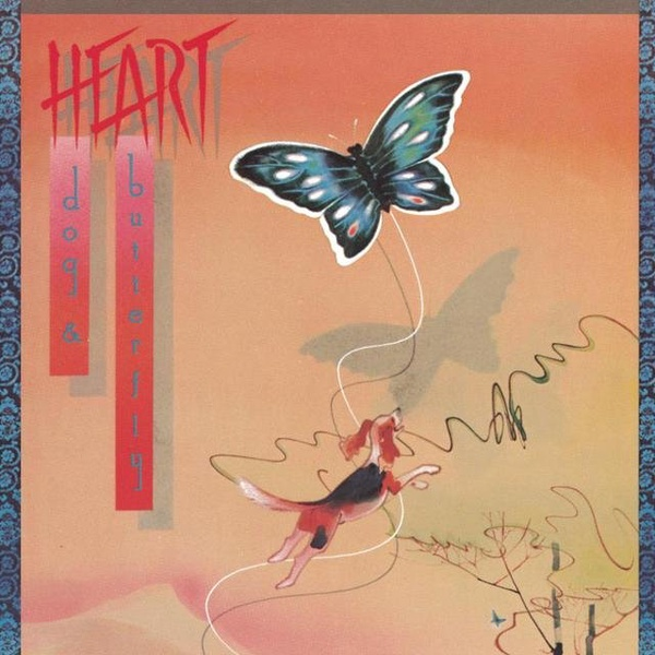 Heart - Dog & Butterfly
